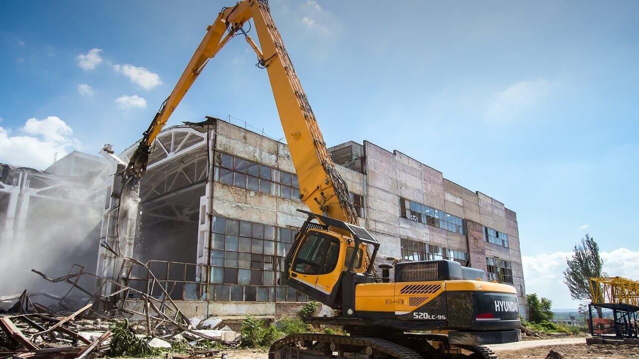 7 30 - Снос промышленных сооружений