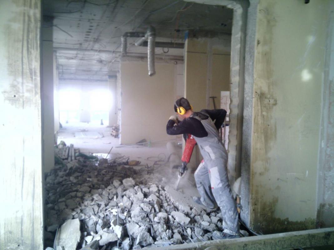 1 - Демонтаж монолитных конструкций